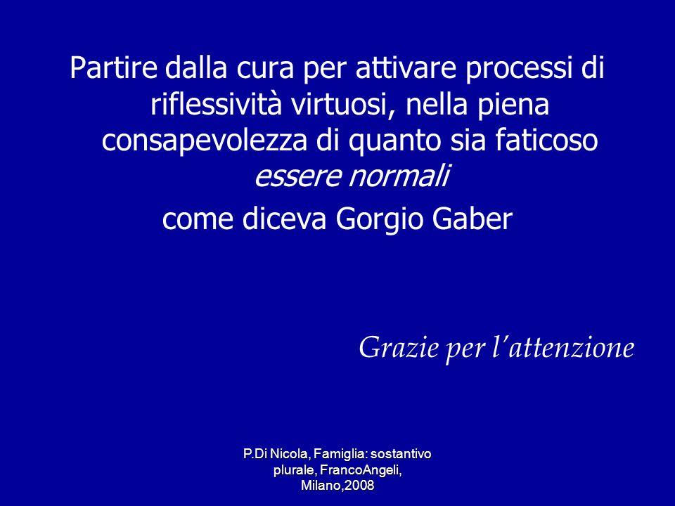come diceva Gorgio Gaber