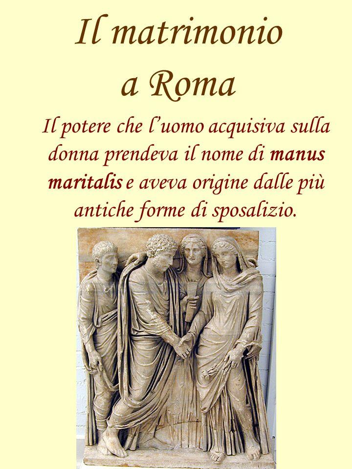 Il matrimonio a Roma