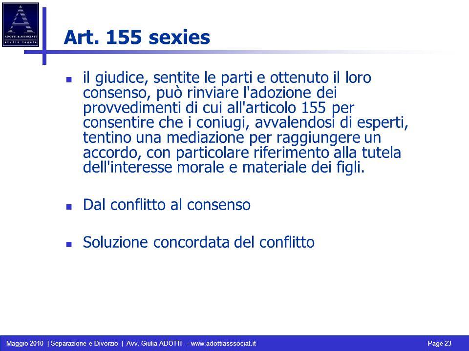 Art. 155 sexies