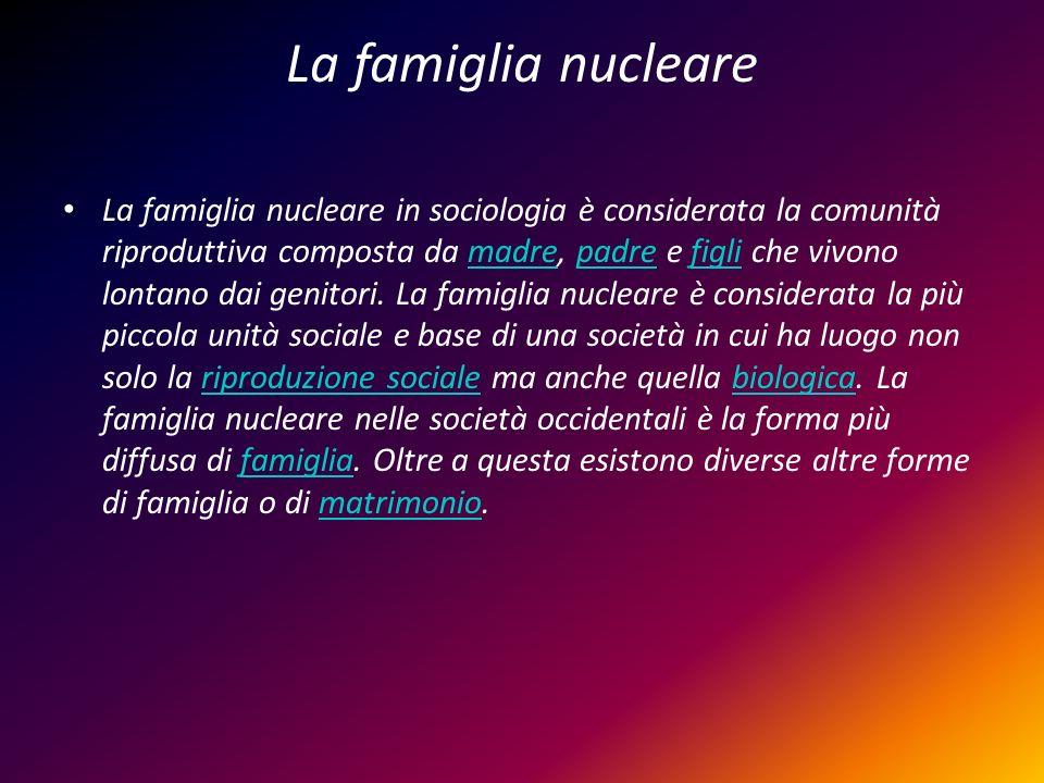 La famiglia nucleare