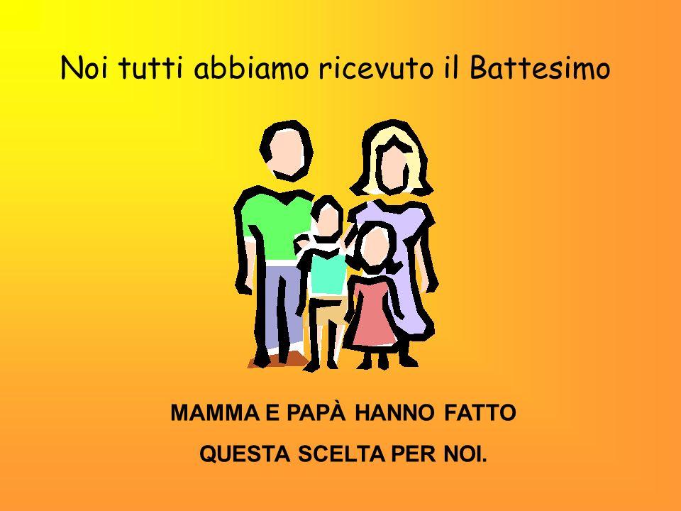 MAMMA E PAPÀ HANNO FATTO