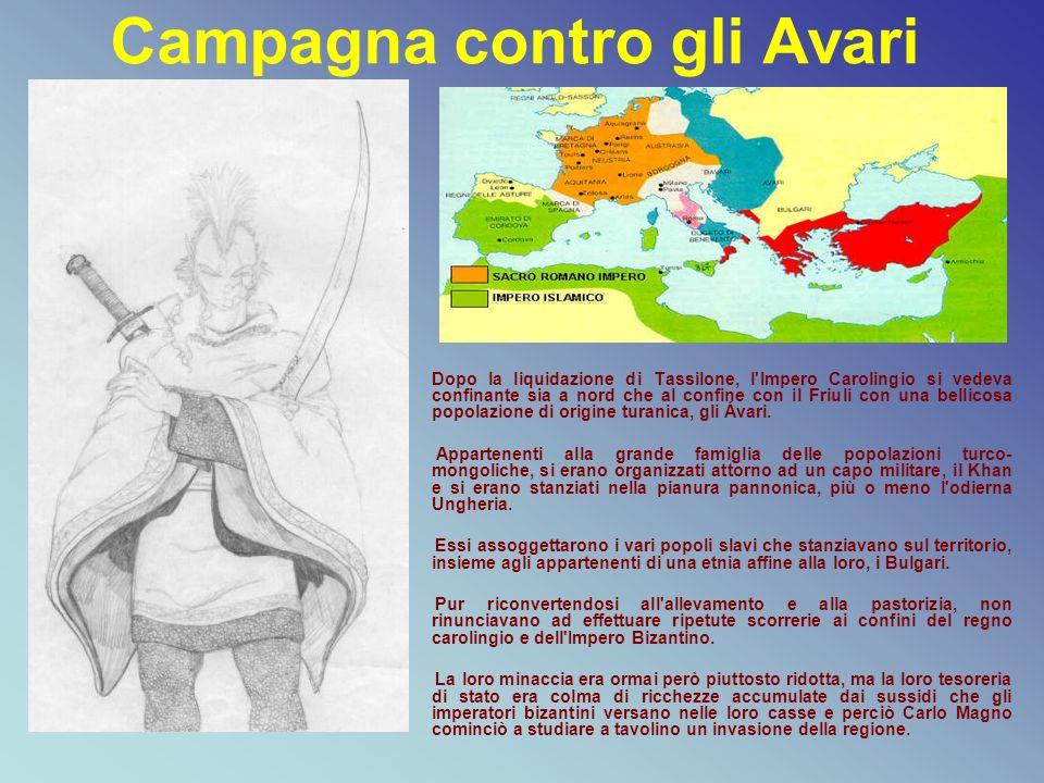 Campagna contro gli Avari