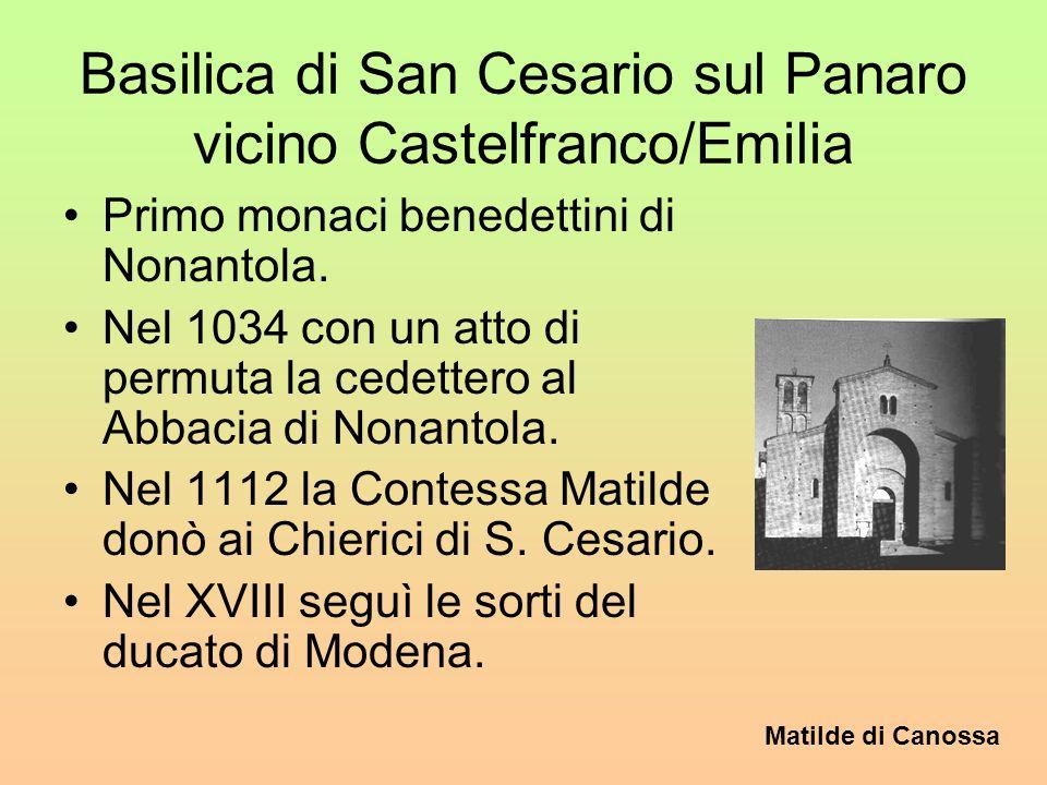 Basilica di San Cesario sul Panaro vicino Castelfranco/Emilia