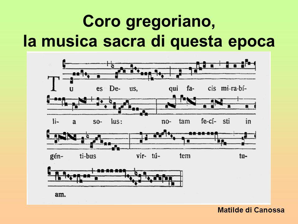Coro gregoriano, la musica sacra di questa epoca