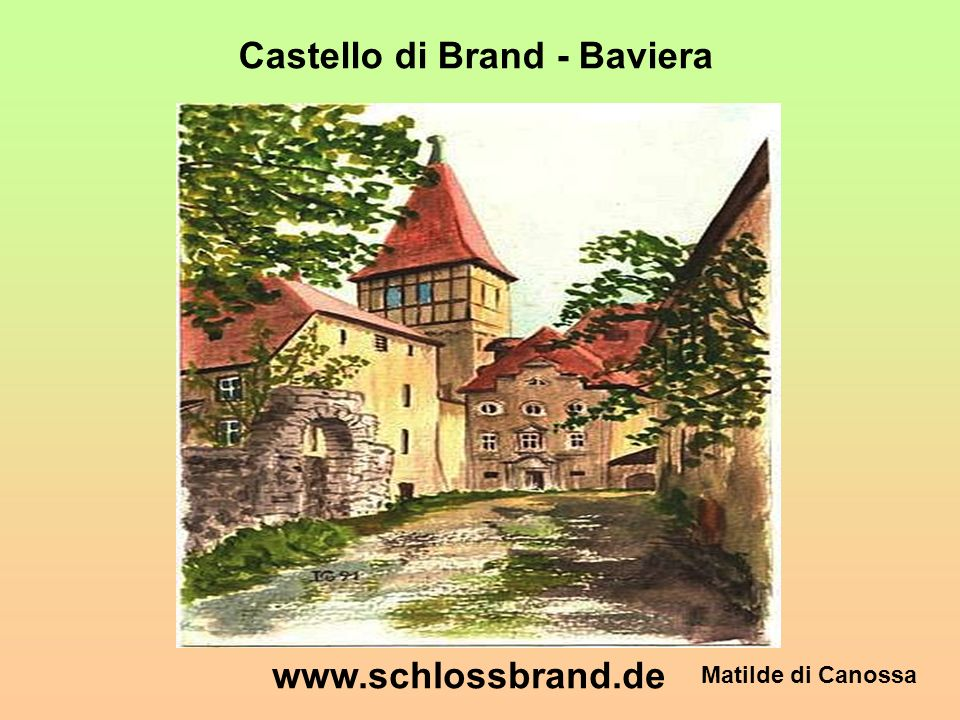 Castello di Brand - Baviera