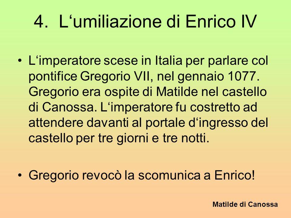 4. L'umiliazione di Enrico IV