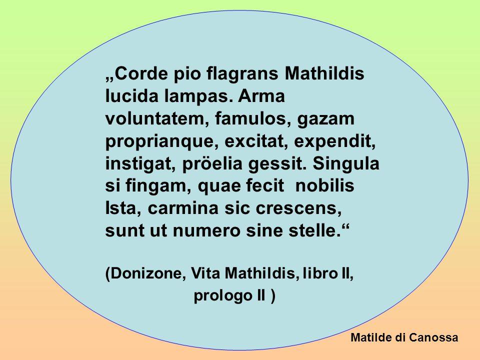 """Corde pio flagrans Mathildis"