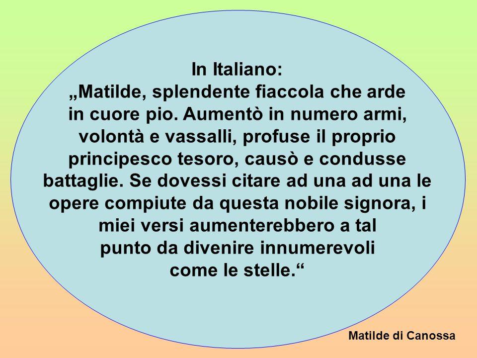 In Italiano: