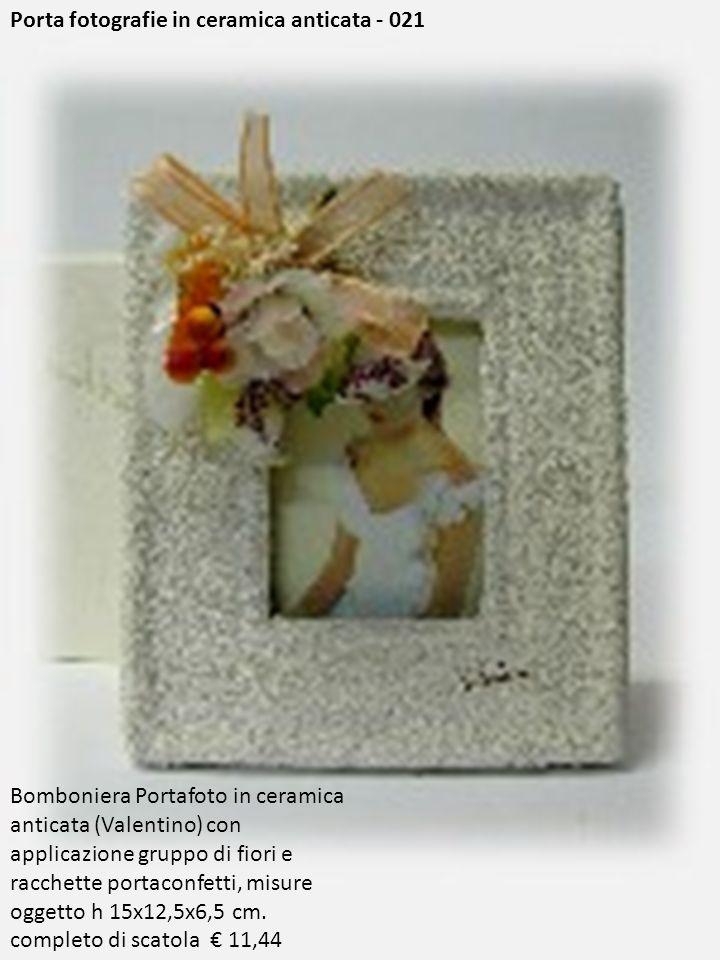 Porta fotografie in ceramica anticata - 021