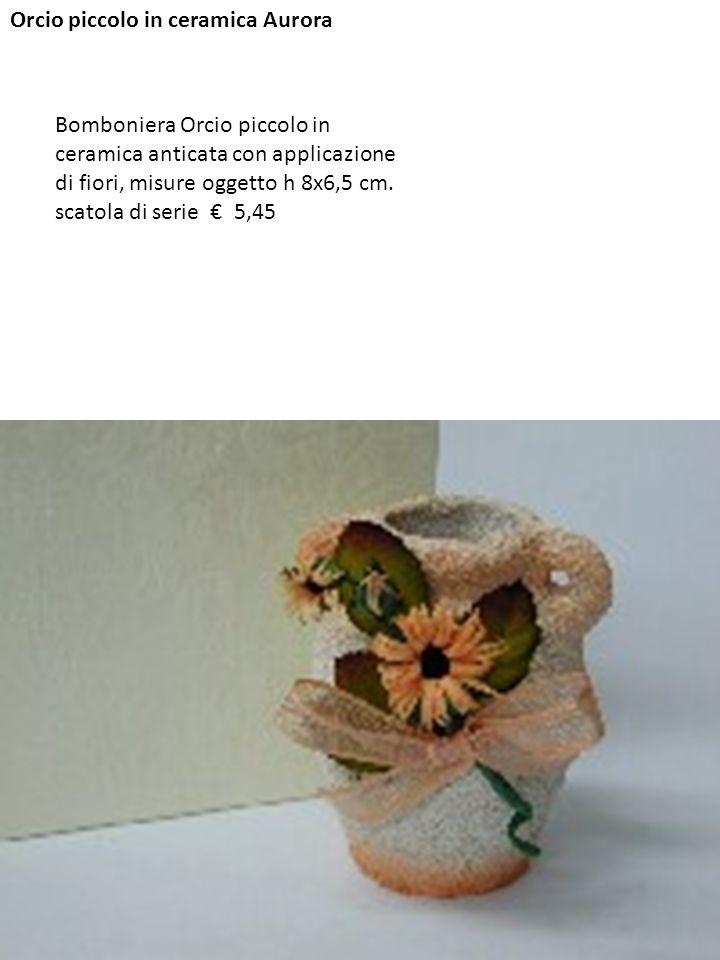 Orcio piccolo in ceramica Aurora