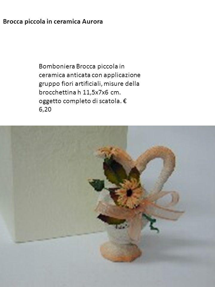 Brocca piccola in ceramica Aurora