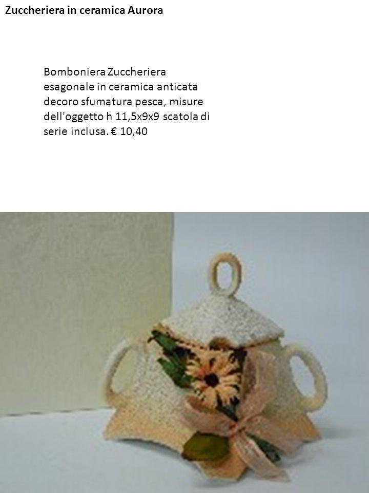 Zuccheriera in ceramica Aurora