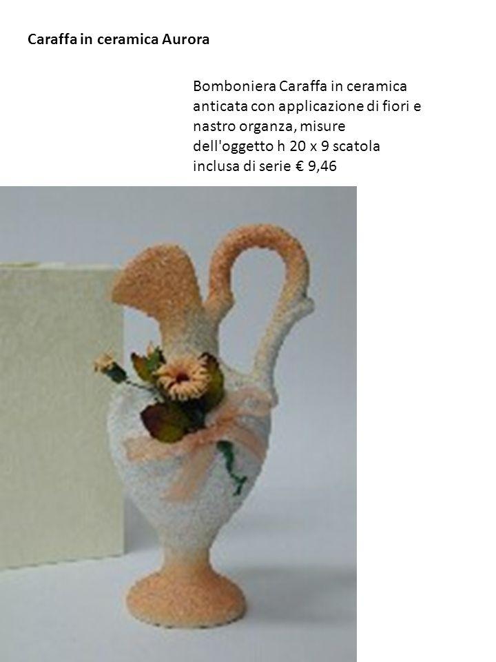 Caraffa in ceramica Aurora