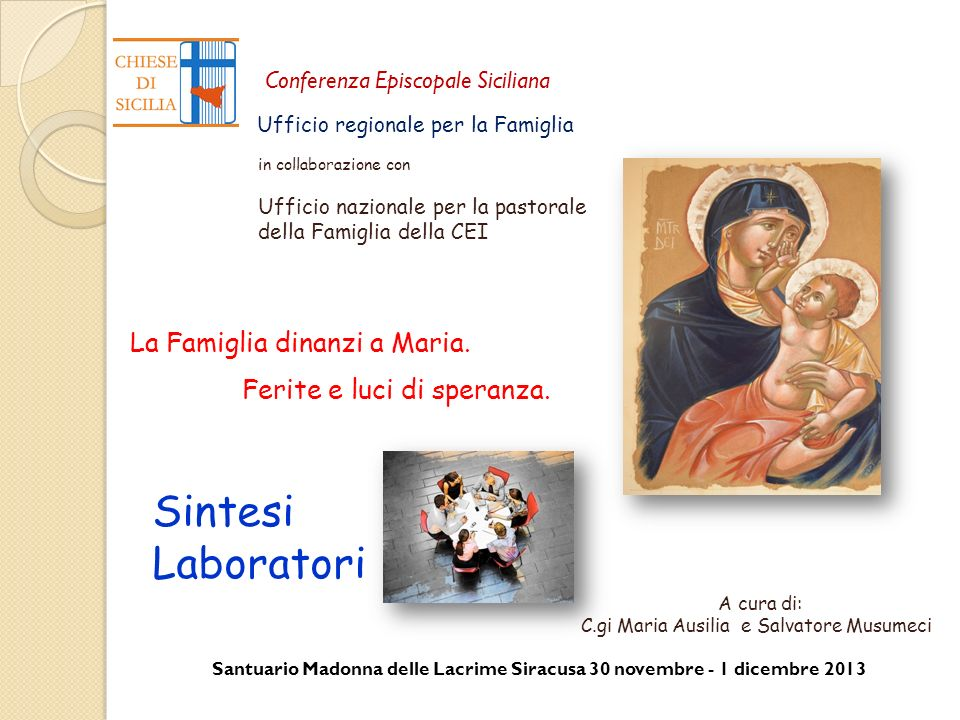 C.gi Maria Ausilia e Salvatore Musumeci
