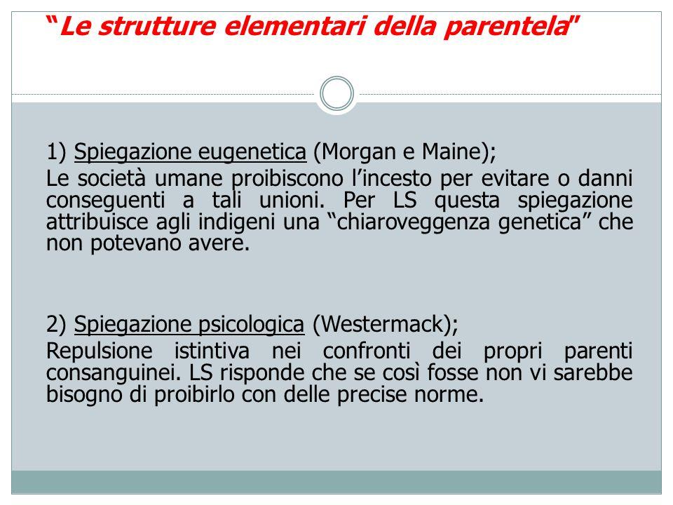 Le strutture elementari della parentela