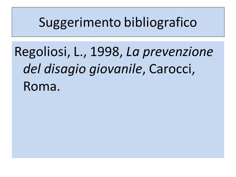 Suggerimento bibliografico