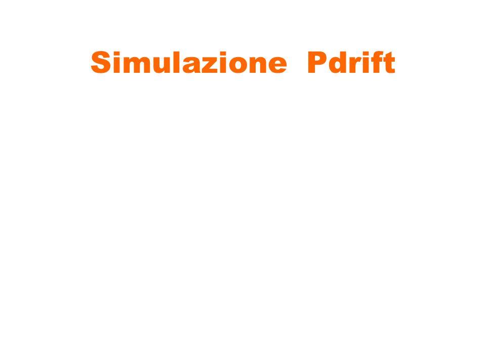 Simulazione Pdrift