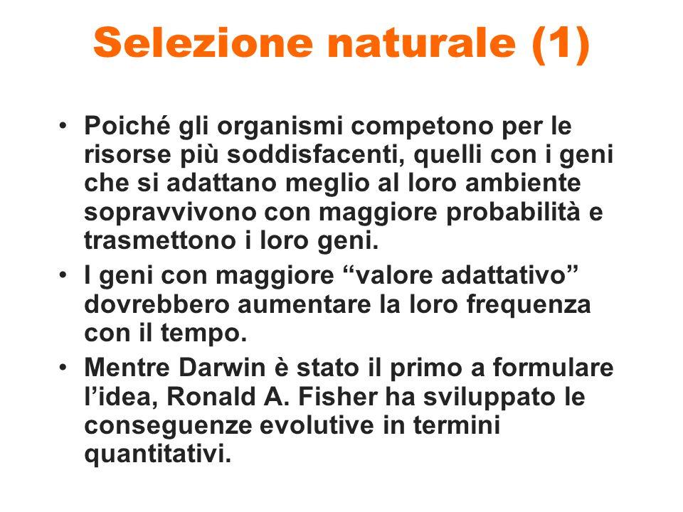 Selezione naturale (1)