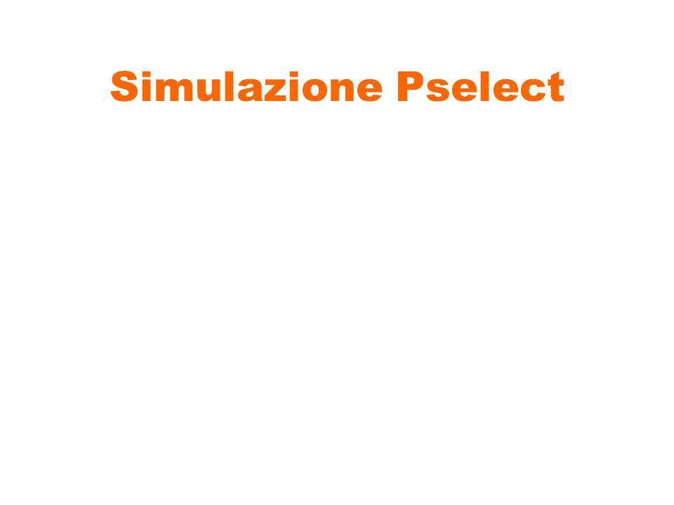 Simulazione Pselect