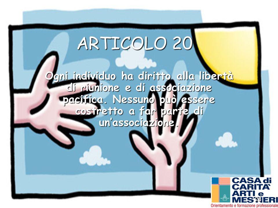 ARTICOLO 20