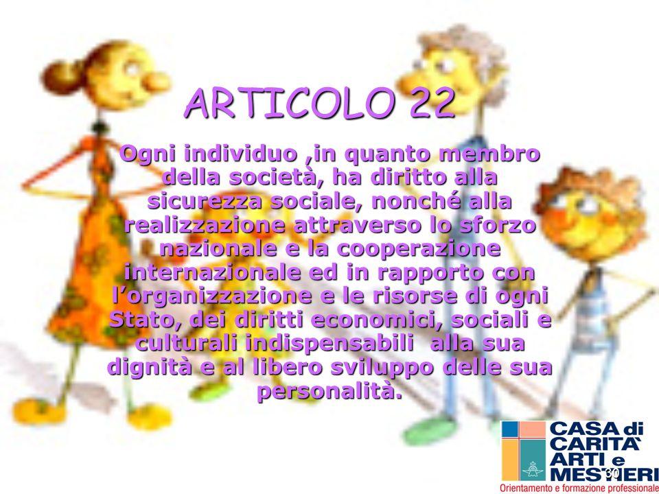 ARTICOLO 22
