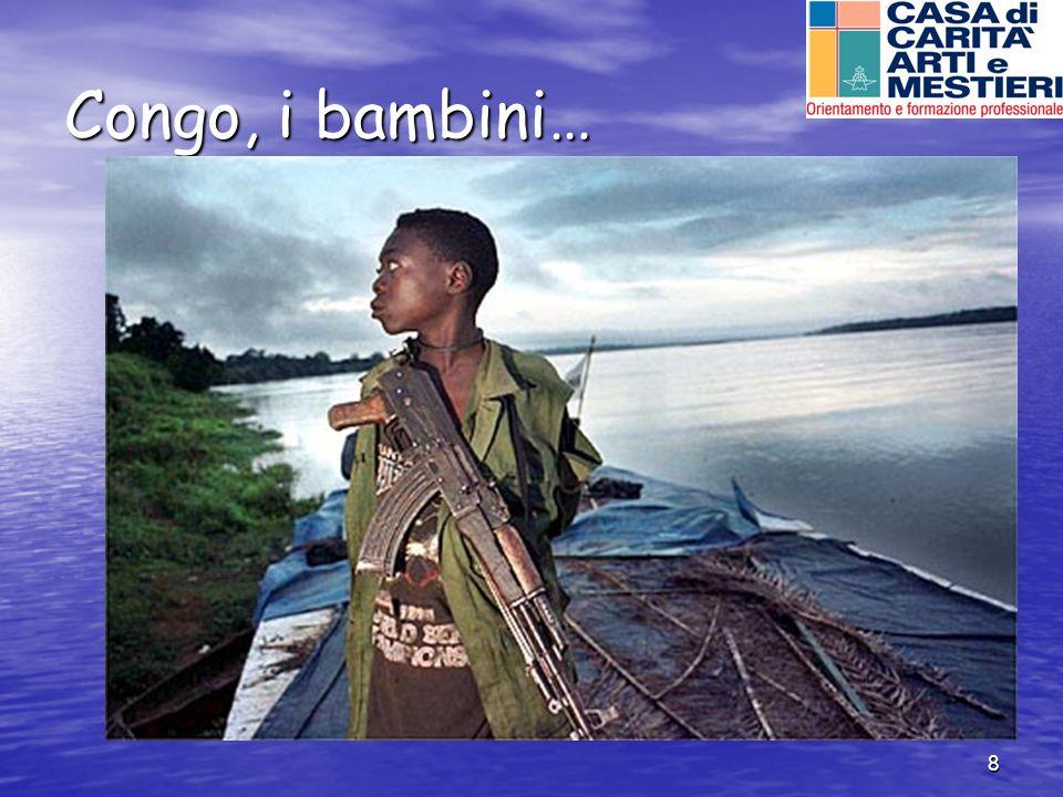 Congo, i bambini…