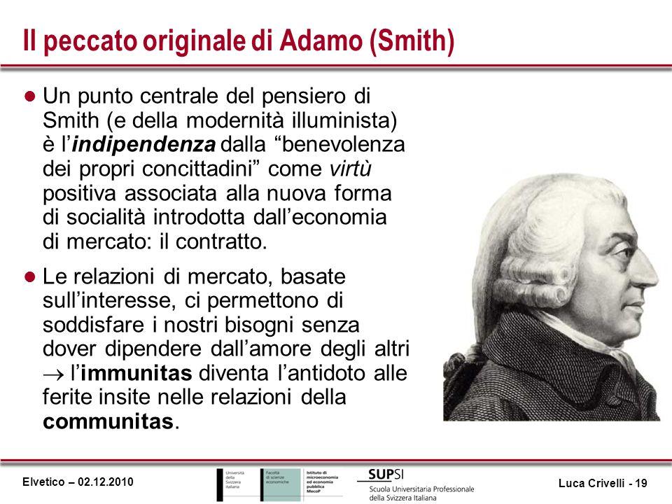 Il peccato originale di Adamo (Smith)