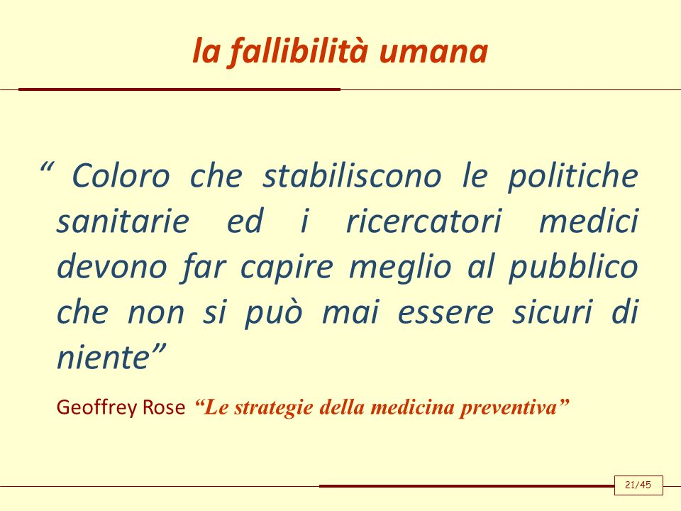 Geoffrey Rose Le strategie della medicina preventiva