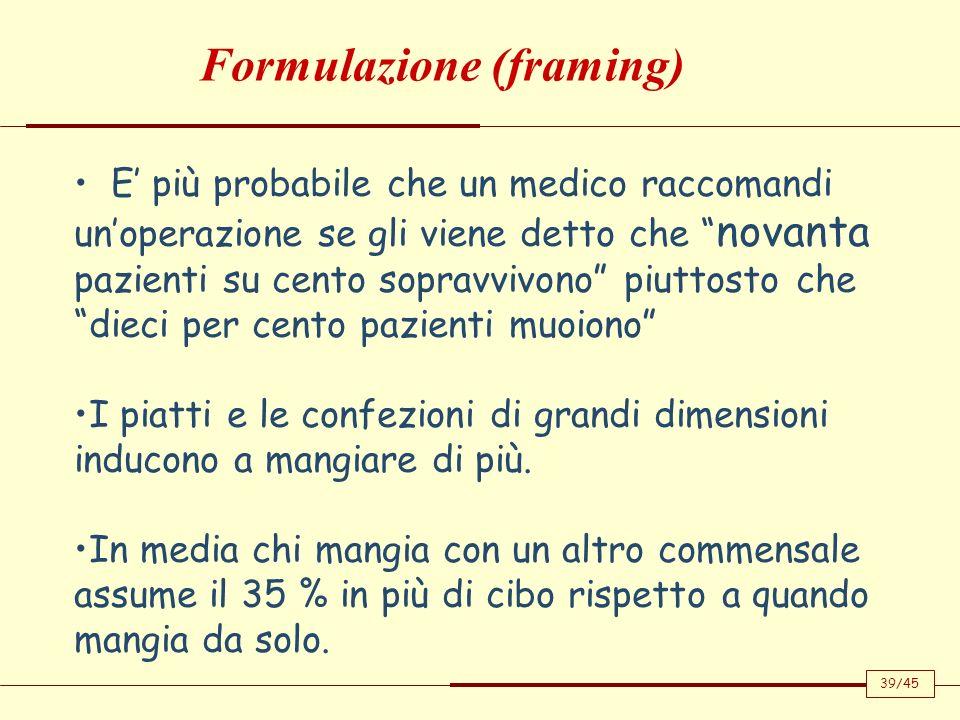 Formulazione (framing)