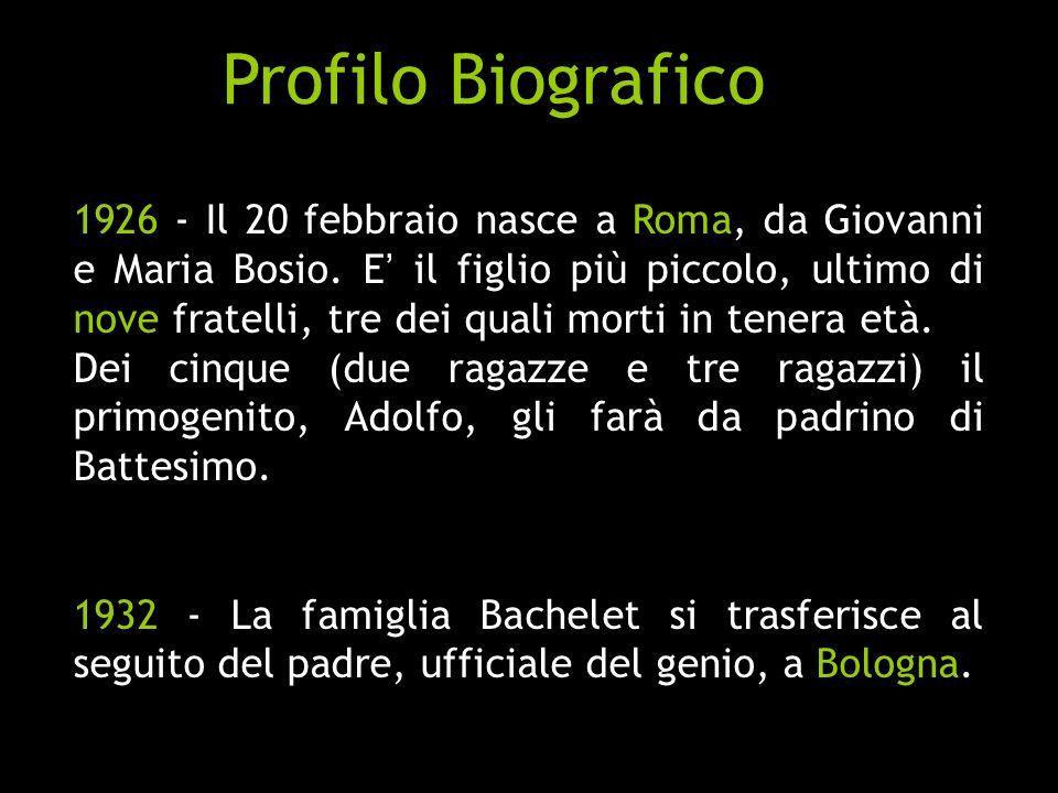 Profilo Biografico
