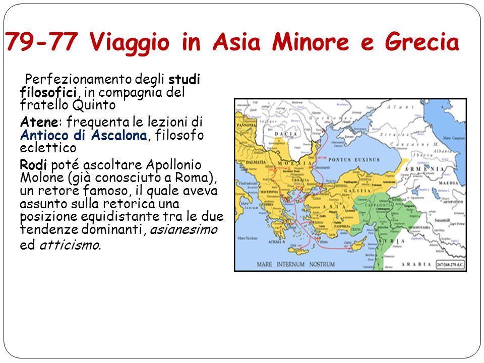 79-77 Viaggio in Asia Minore e Grecia