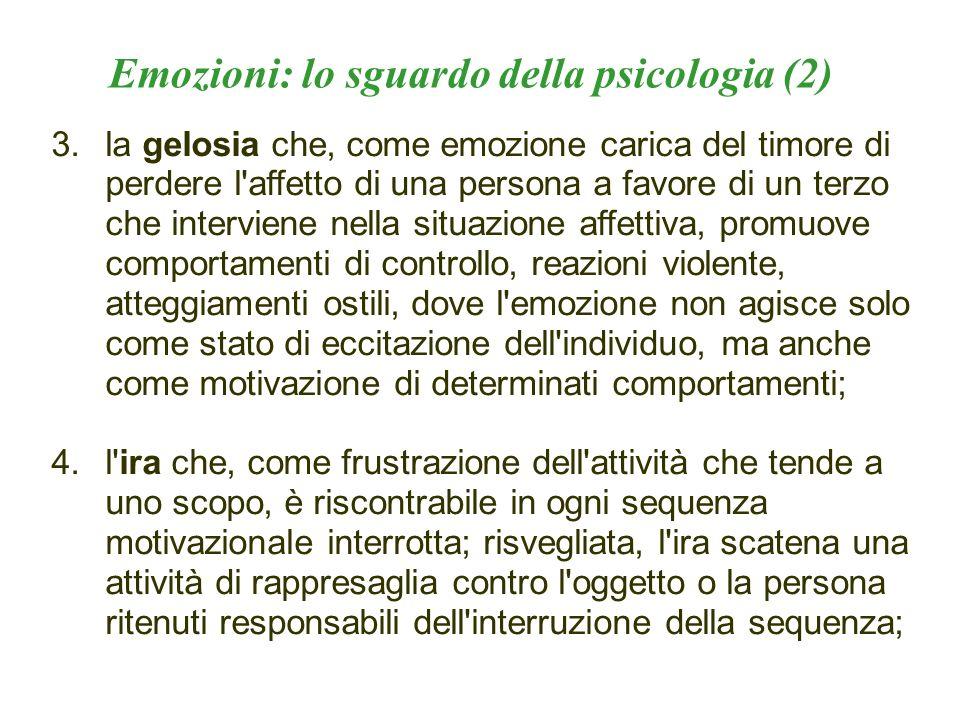 Emozioni: lo sguardo della psicologia (2)