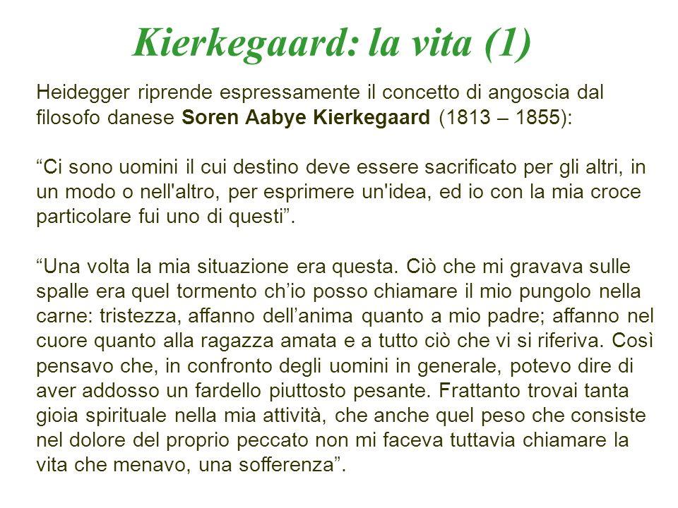 Kierkegaard: la vita (1)