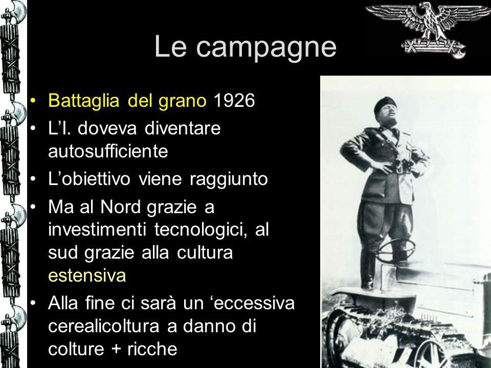 Le campagne Battaglia del grano 1926
