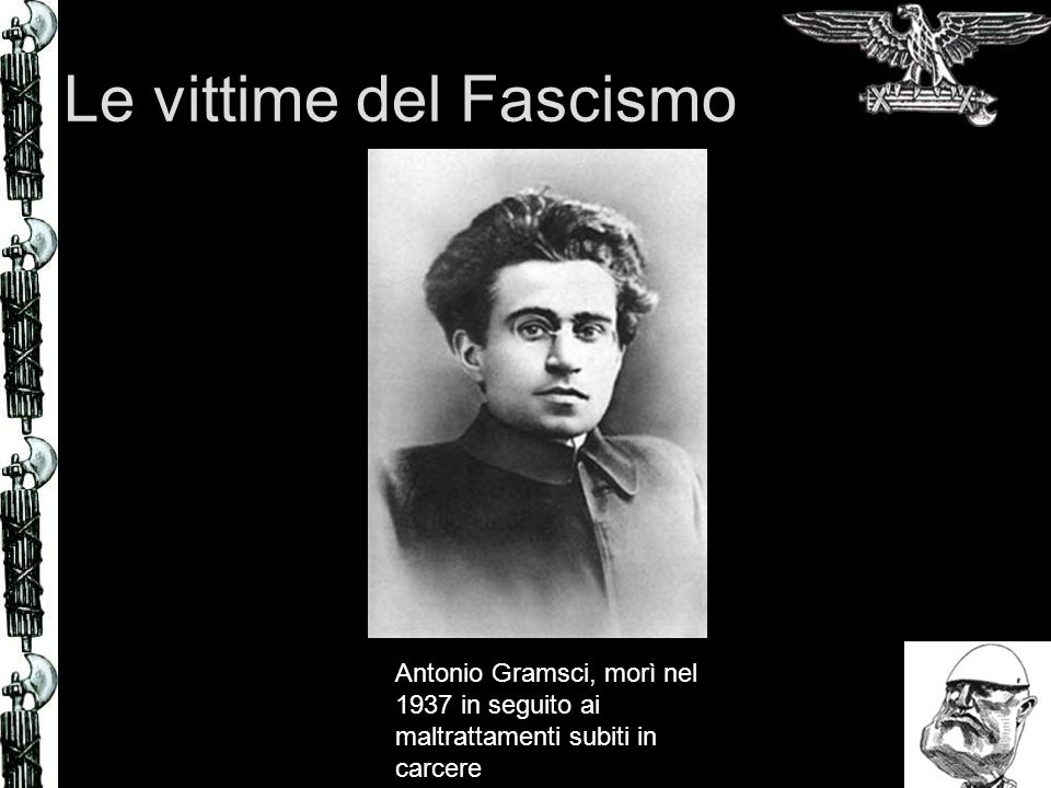 Le vittime del Fascismo