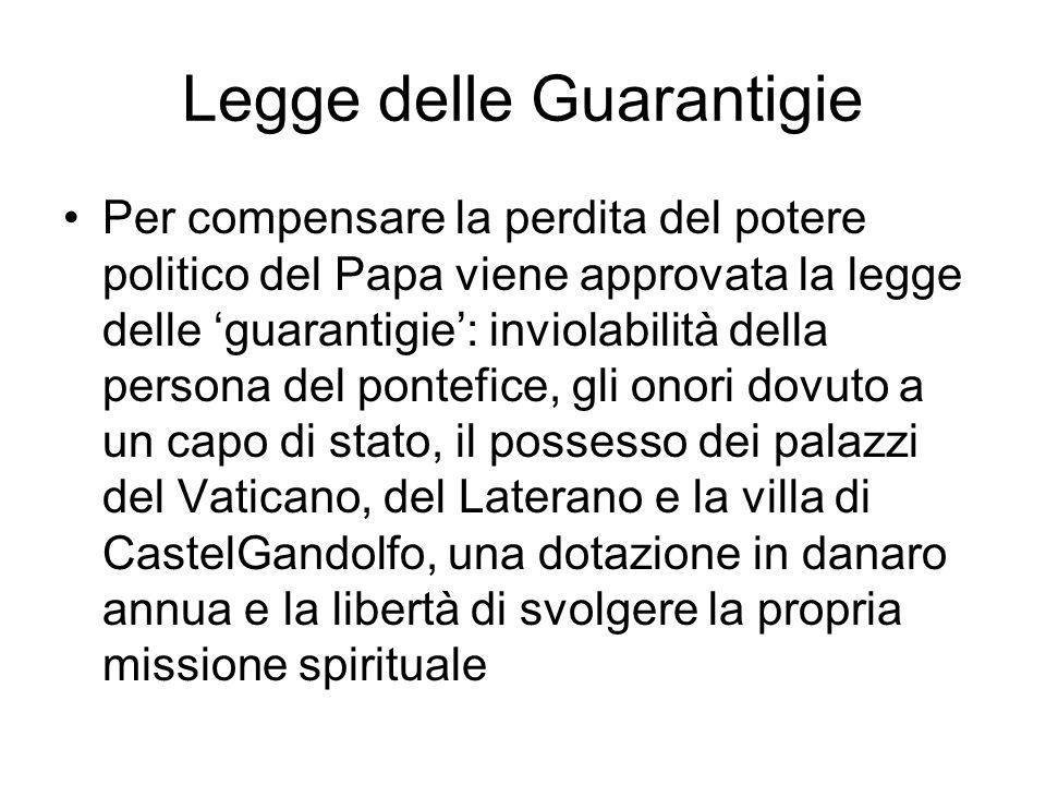 Legge delle Guarantigie