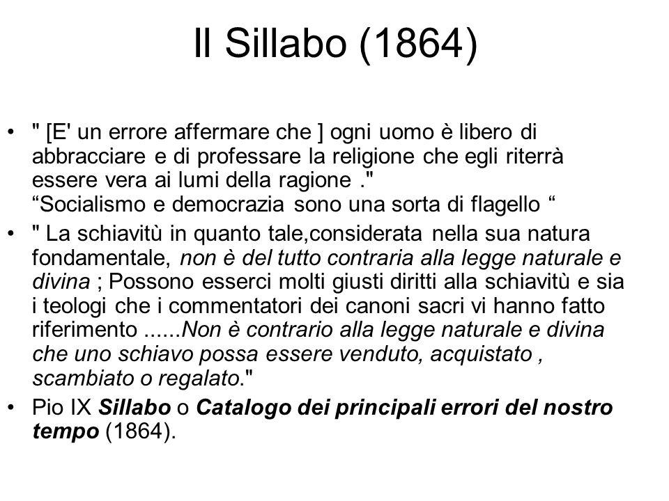 Il Sillabo (1864)
