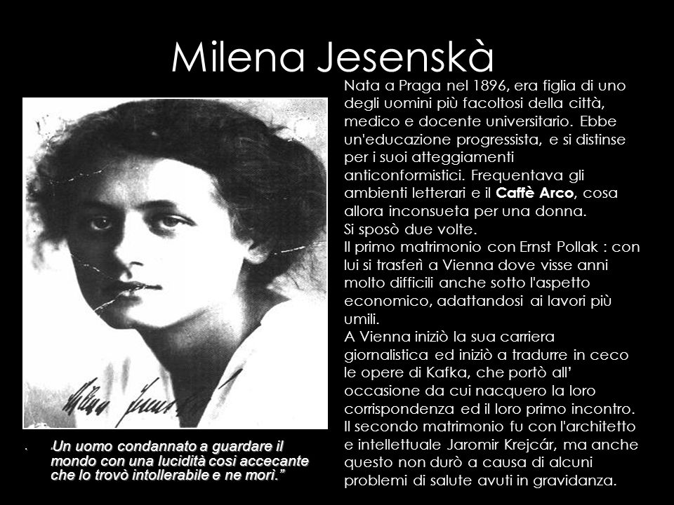 Milena Jesenskà
