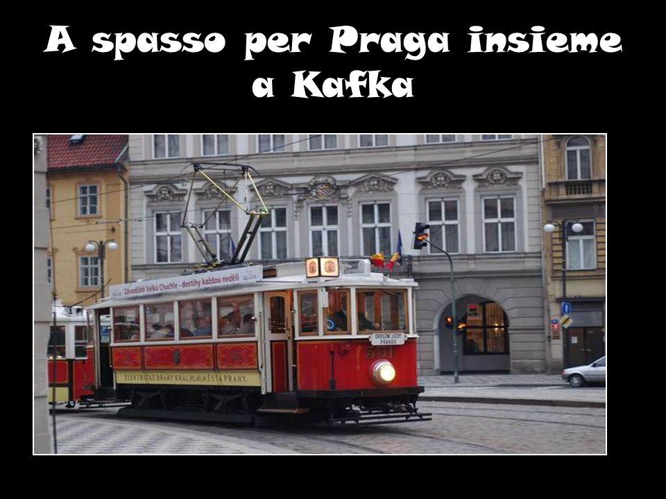 A spasso per Praga insieme a Kafka