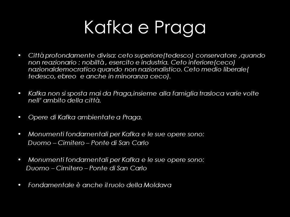 Kafka e Praga