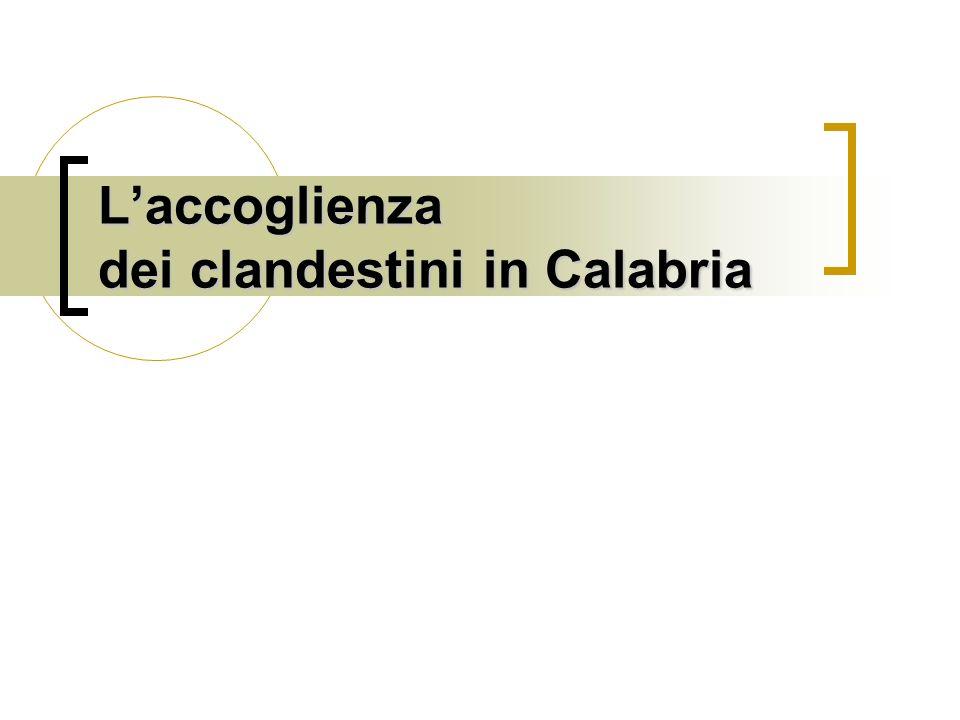 L'accoglienza dei clandestini in Calabria