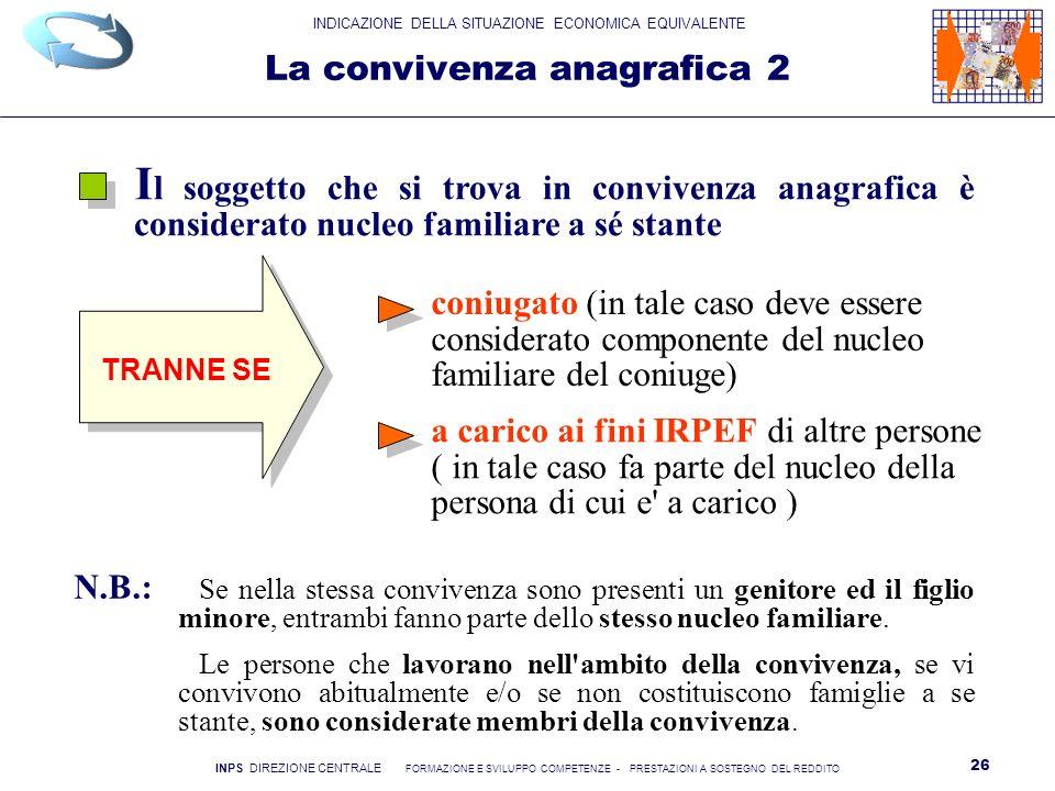 La convivenza anagrafica 2