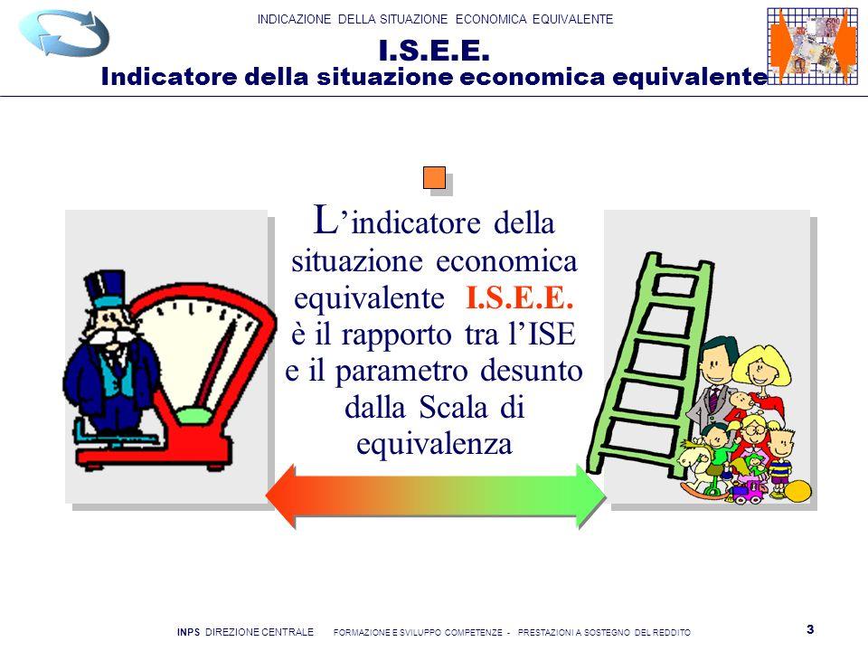 I.S.E.E. Indicatore della situazione economica equivalente