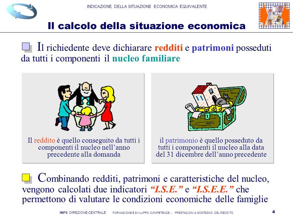 Il calcolo della situazione economica