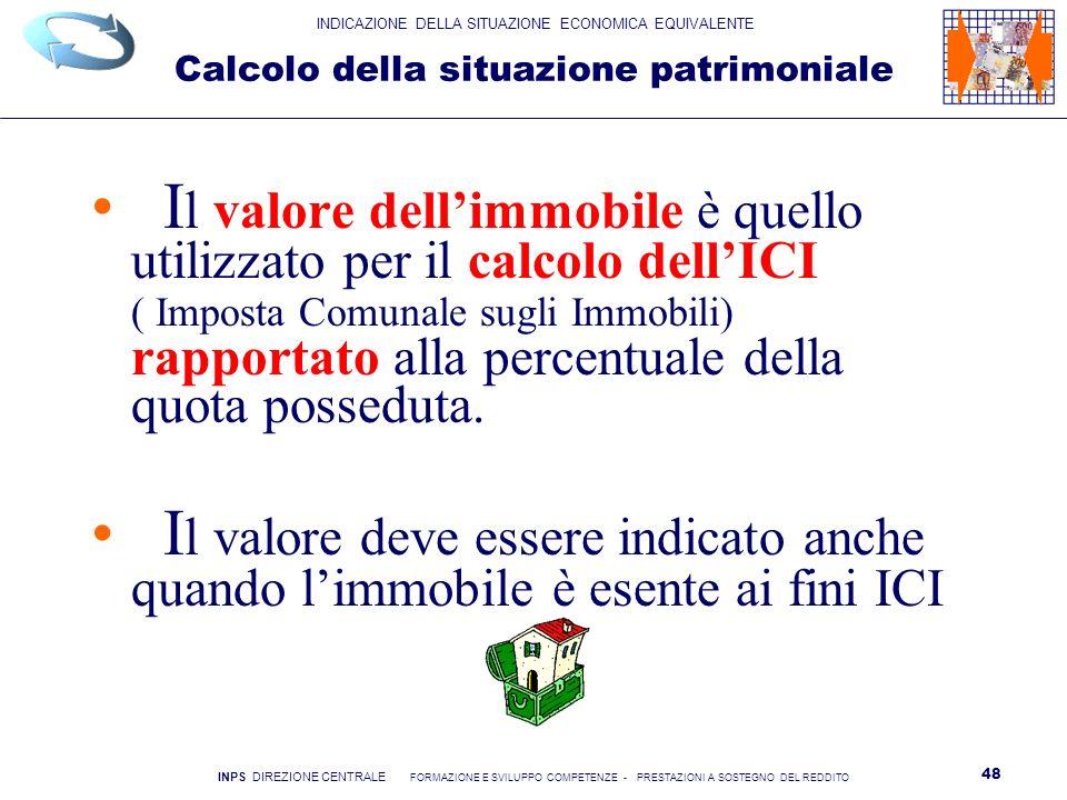 Indicatore della situazione economica equivalente ppt - Calcolo valore commerciale immobile ...