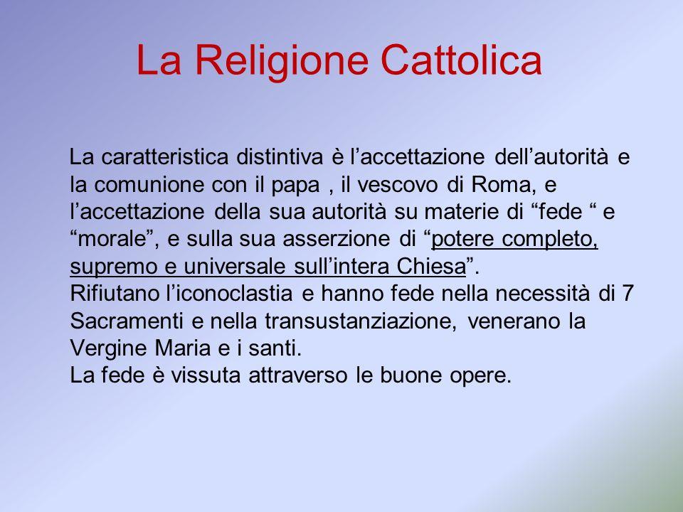 La Religione Cattolica