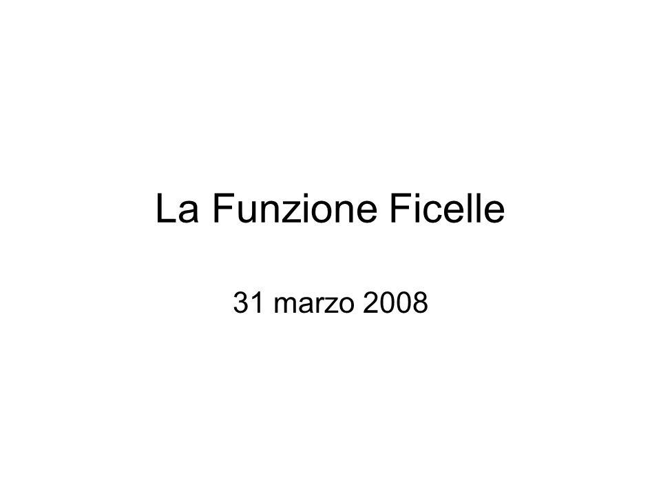 La Funzione Ficelle 31 marzo 2008