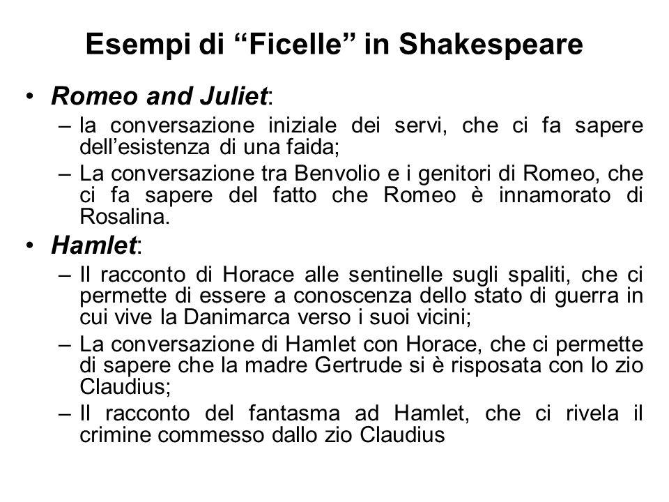 Esempi di Ficelle in Shakespeare