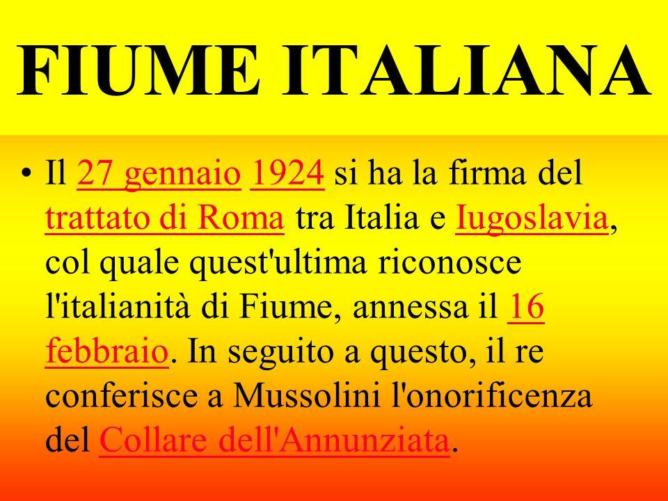 FIUME ITALIANA
