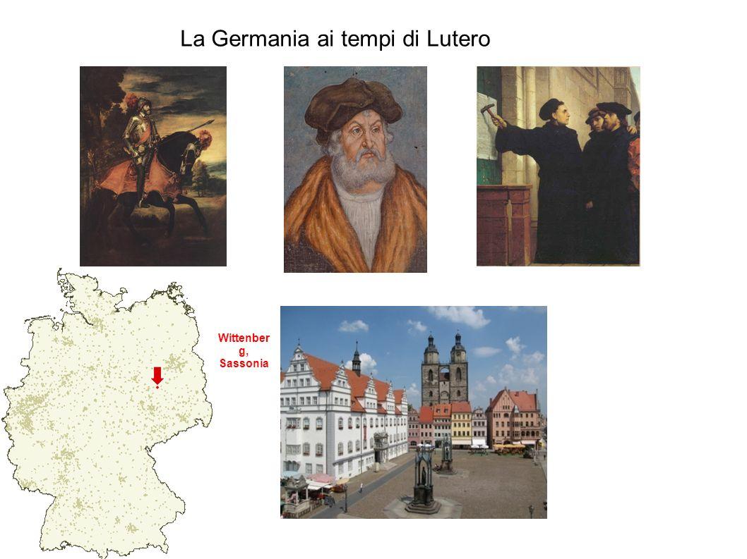 La Germania ai tempi di Lutero